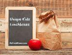 Unique Kids Lunchboxes
