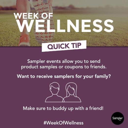 week of wellness buddy system