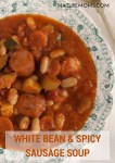 White Bean and Spicy Sausage Soup