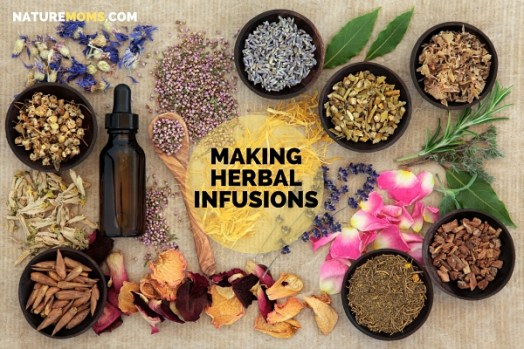making herbal infusions