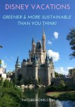 Disney Vacations – Greener Than You Think