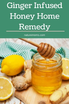 Ginger Infused Honey Home Remedy