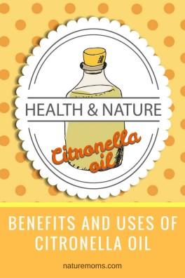 Benefits Uses Citronella Oil