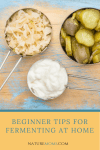 Beginner Tips for Fermenting