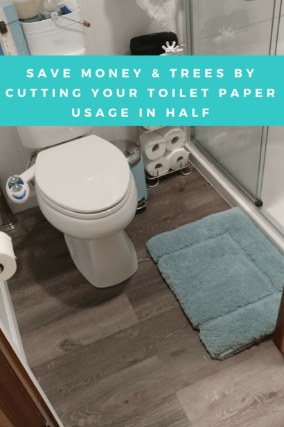 Save Money On Toilet Paper By Converting Your Toilet To A