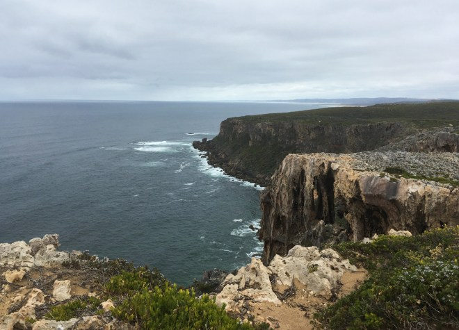 Cliffs in D'Entrecasteaux National Park