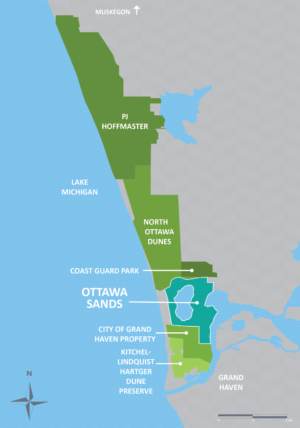 Ottawa Sands Map