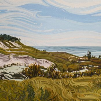 """Flower Creek Dunes"" by Randi Ford."