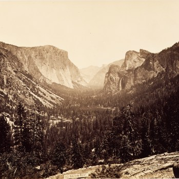 View from Inspiration Point by Carleton Watkins (Yosemite Valley)
