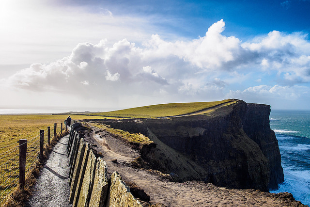 Cliffs of Moher Doolin Ireland by anpalacios