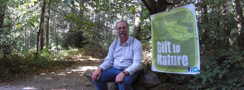 Matt and Gift to Nature banner