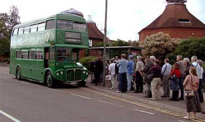 Bus queue, Dorking. © brapps