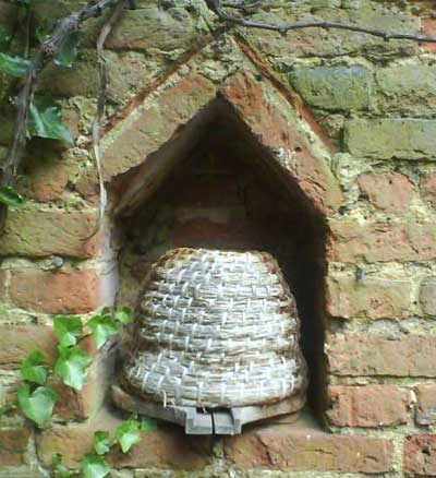 Skep in wall