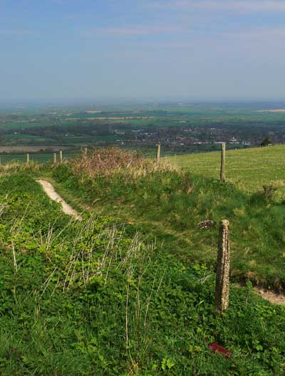 View over Steyning
