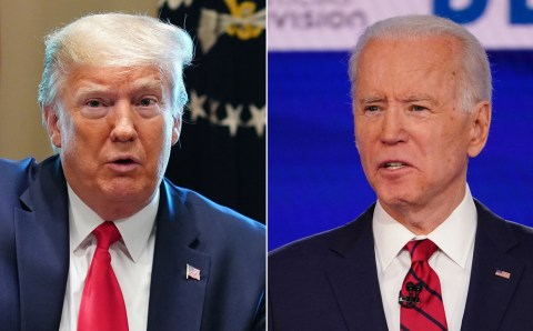 Joe Biden calls Trump's son 'sick' for suggesting he's a pedophile and says Trump is 'petty' for not wanting to hang Obama's portrait