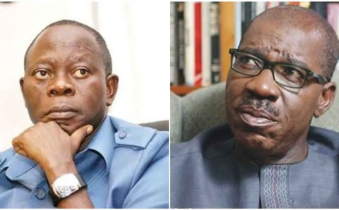 """Our party is not a party of big men"" – Oshiomhole"