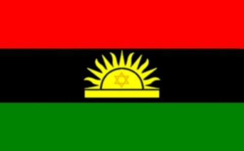 Nnamdi Kanu unveils Biafra new Flag cum Logo design