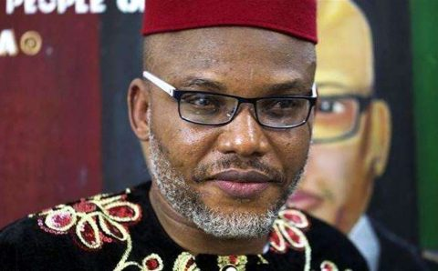 """Nnamdi Kanu reacts after Aisha Yesufu says that Nigeria """"is worse"""" than a zoo"""