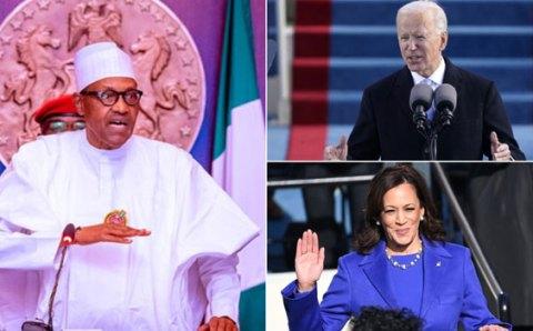 We Look Forward To Working With Joe Biden And Kamala Harris – Buhari