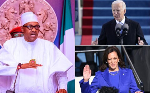 We Look Forward To Working With Joe Biden And Kamala Harris – Buhari