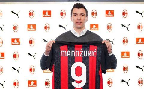 AC Milan confirm signing of striker Mario Mandzukic