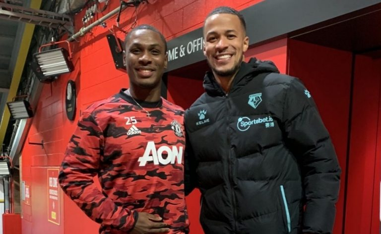 Troost-Ekong relishes reunion with 'big brother' Ighalo