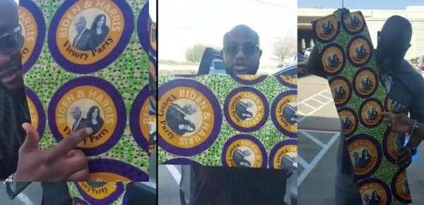Nigerians in United States design Aso-Ebi for Biden/Harris inauguration