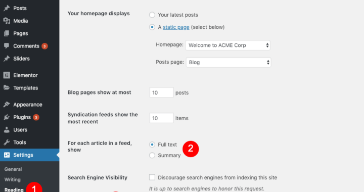 7 simple steps to publish a post in WordPress website