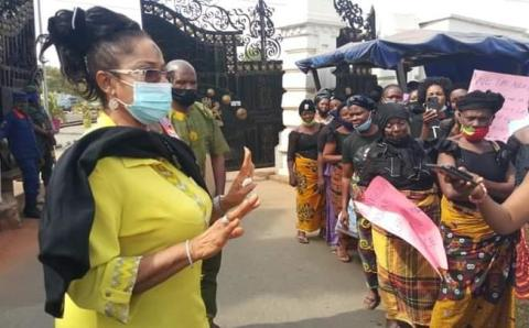 How 'Nkerechi women' protested against the law