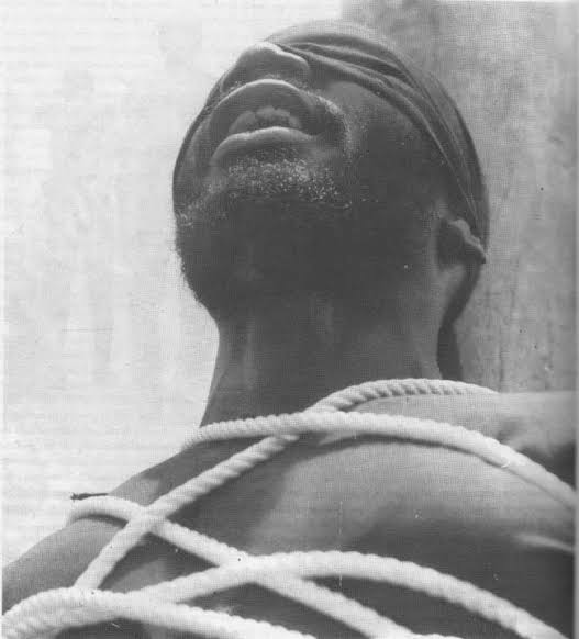 The first Nigerian Armed Robber That Was Killed Publicily