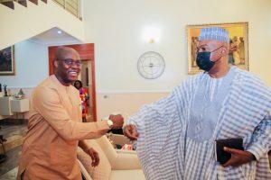 PDP Crisis: Saraki Moves To Reconcile Makinde, Fayose