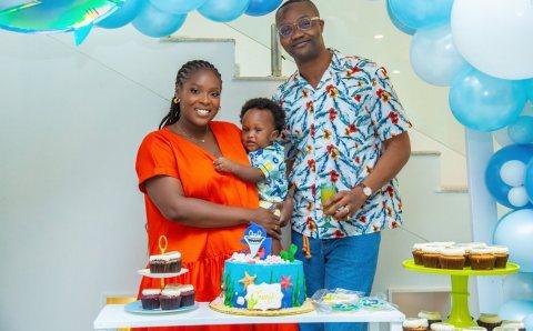 Ted Abudu & Adebola Makanjuola threw their Son TJ an Intimate First Birthday Bash