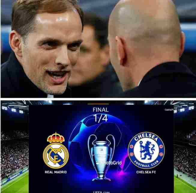 CL Semi Final: Only way Chelsea Could Defeat Real Madrid
