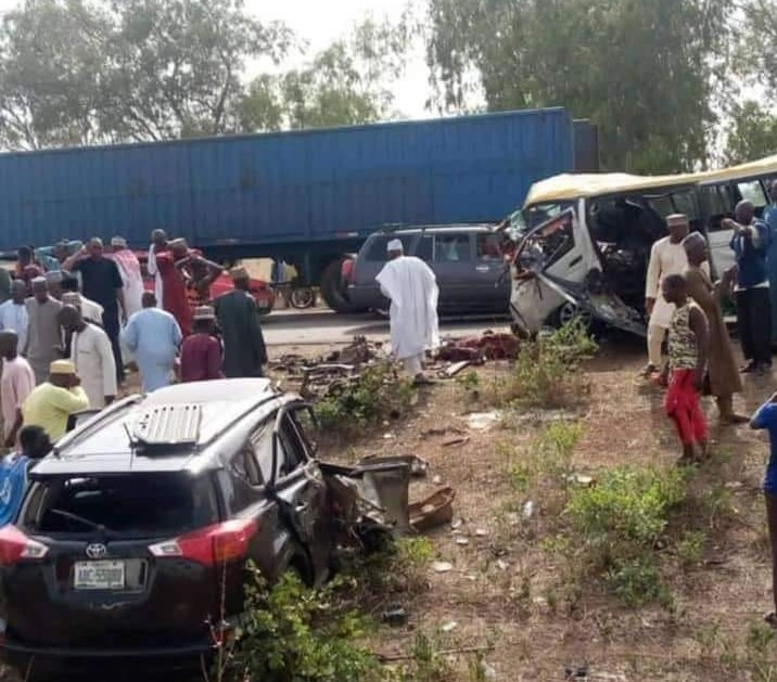 17 young men  involved in fatal motor accident from kaduna