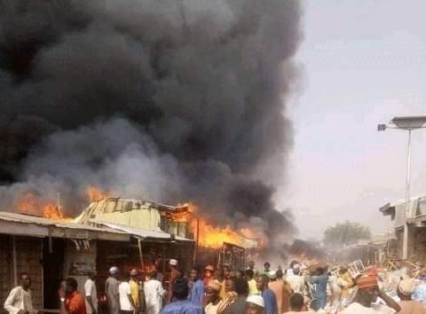 JUST IN: Fire claims 22 lives in Kano, destroys N22.9 million property