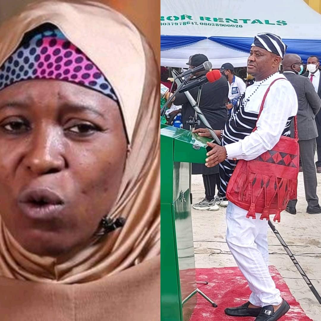 Aisha Yesufu blasts Wike for mocking IPOB members that was being killed