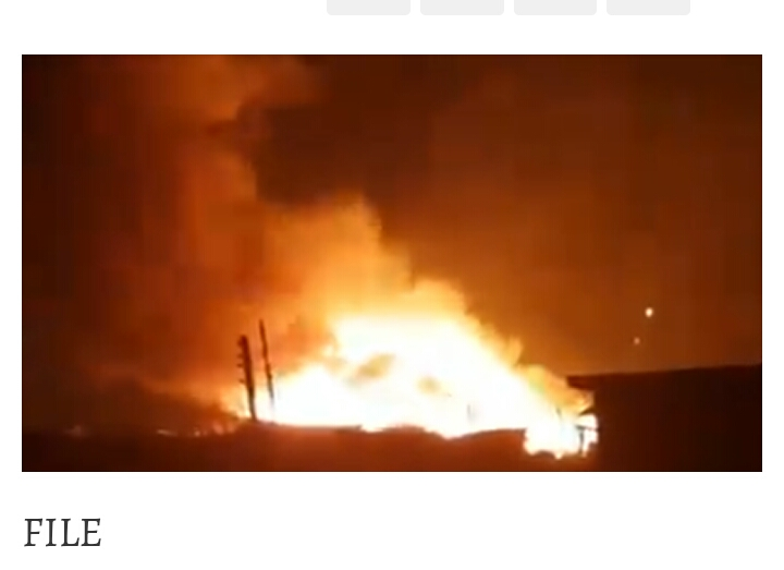 Angry traders set market ablaze in Abia one killed five in critical condition
