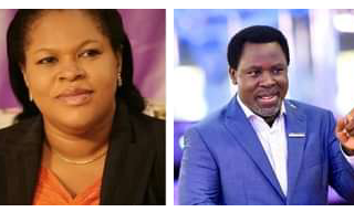 My Husband Prayed For Three Hours, Didn't Show Any Sign Of Illness Before Dying – TB Joshua's Wife