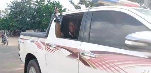 Sunday Igboho arrives Igangan community over killings (photos)
