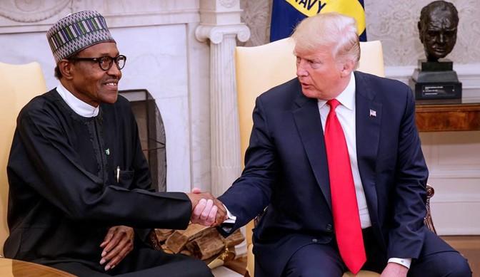 Former US President Donald Trump Congratulate Buhari for banning Twitter