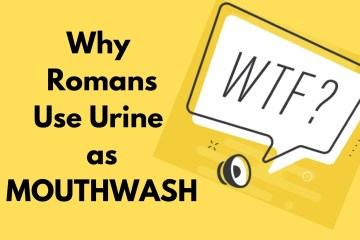 why roman use urine as mouthwash