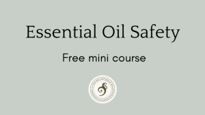 essential oil safety mini course by Deanna Russell