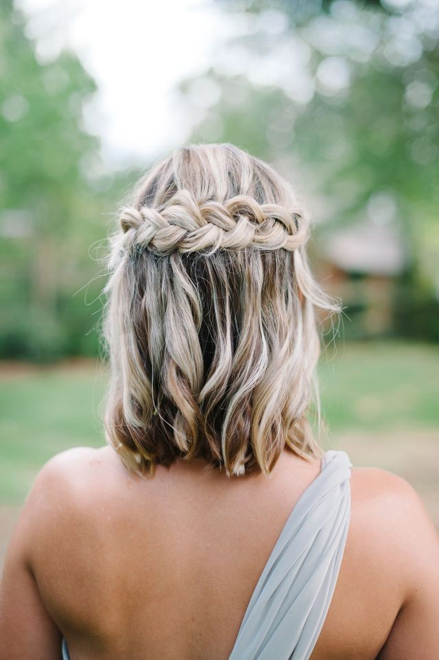 18 most romantic wedding hairstyles for short hair