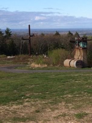Old, defunct ski lift