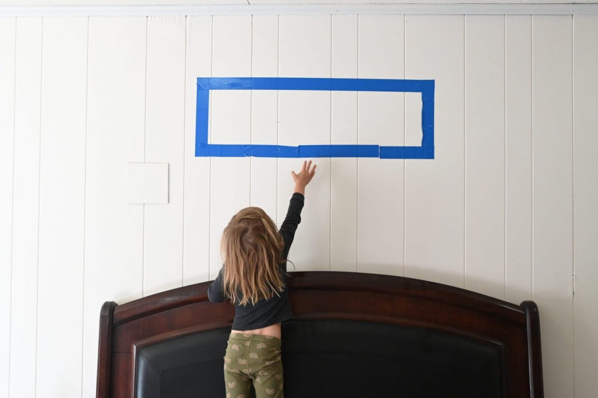 kid safe art hanging technique amsw photography