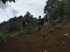 Going up to Laguna Cerro Castillo