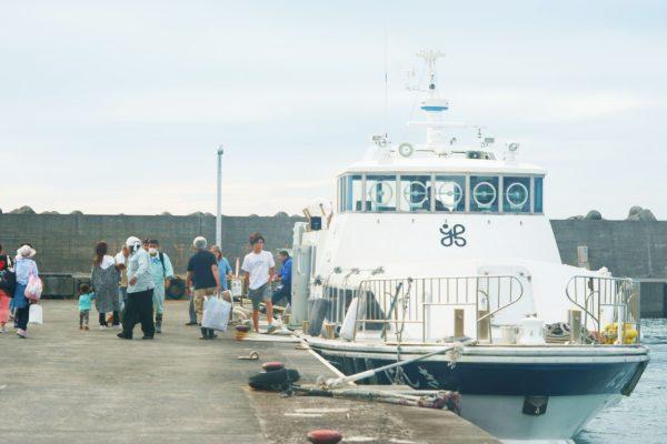 島民の足でもある『連絡船にしき』
