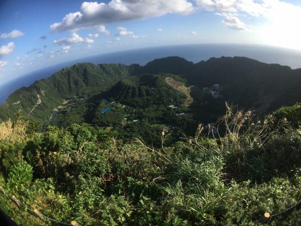 青ヶ島と言えばこの景色!