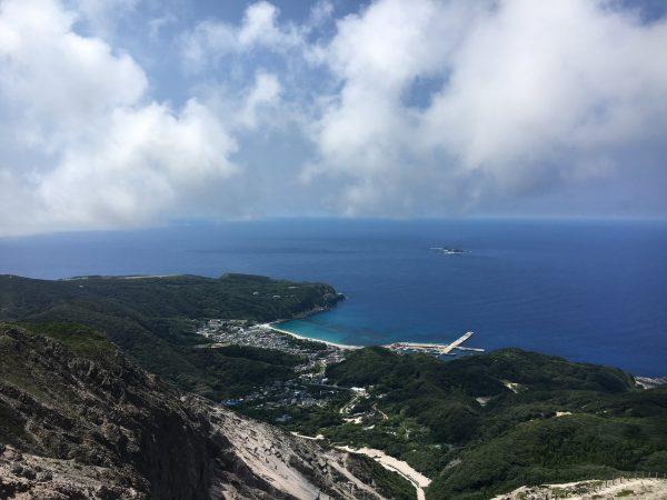 天上山山頂からの眺め