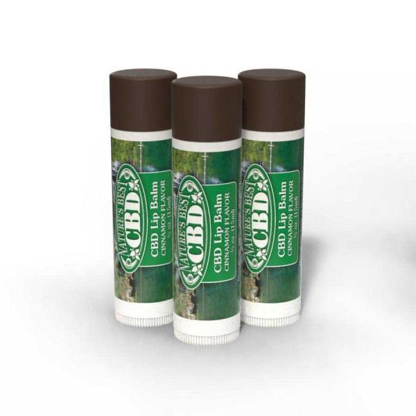 Nature's Best CBD Lip Balm Cinnamon Flavor